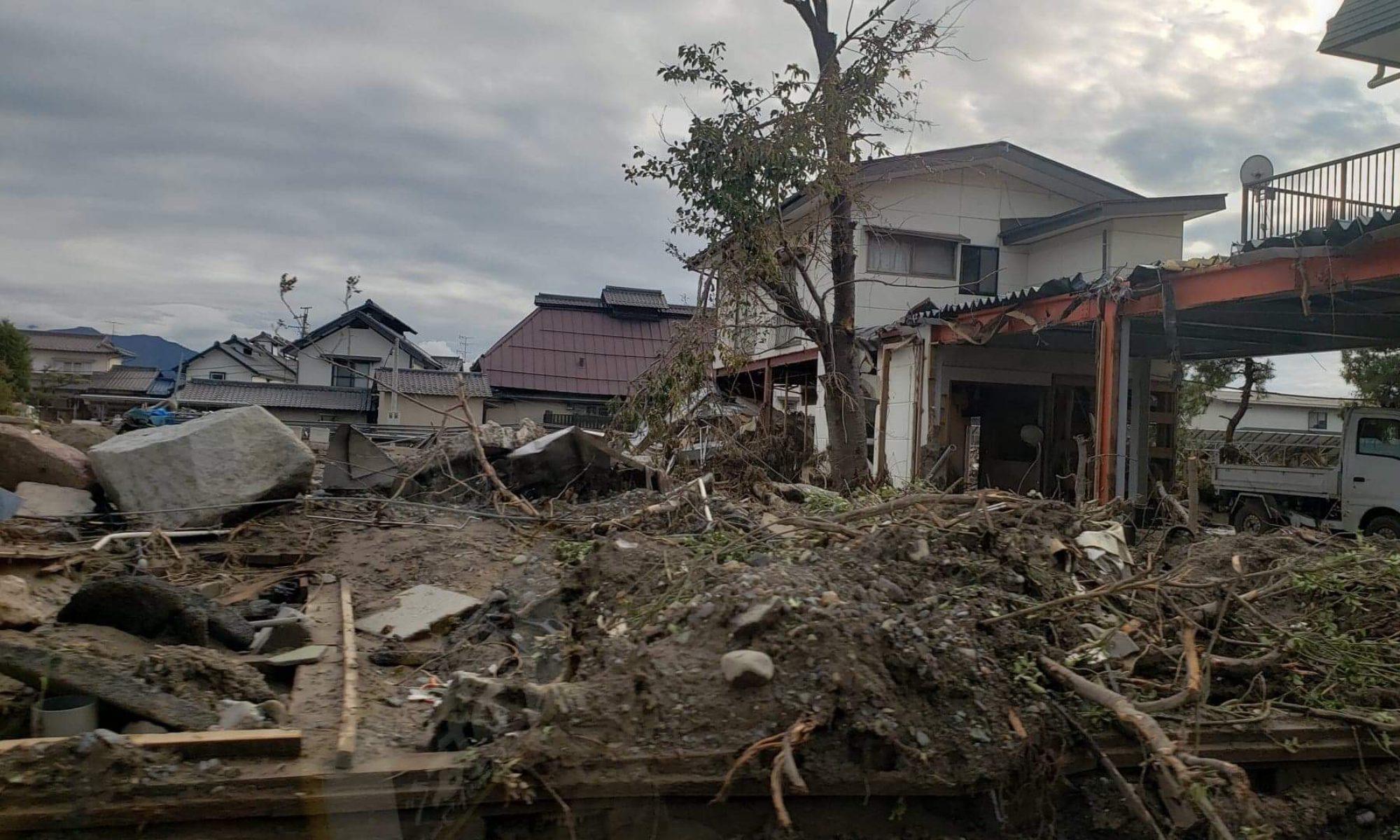 2019年台風19号に関する災害支援ニュース